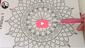 curso tapete de croche online com grafico